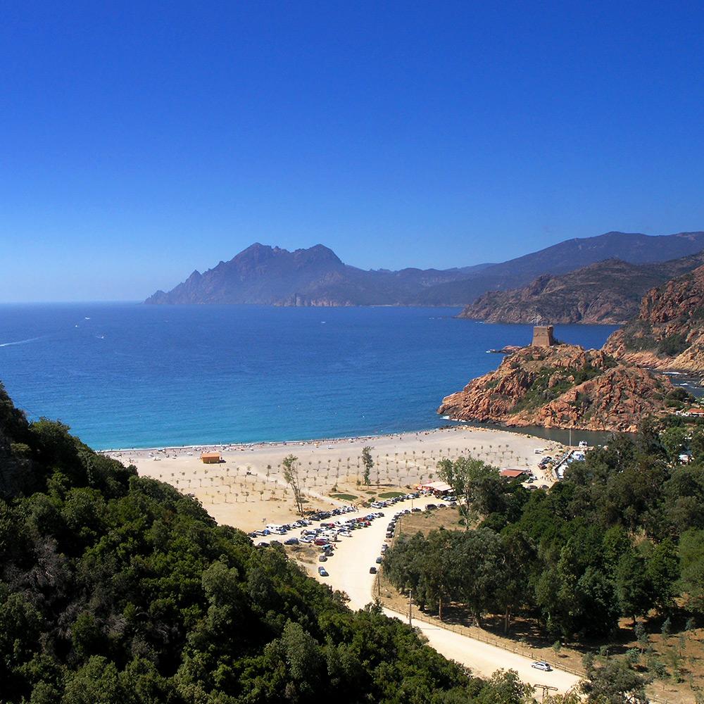 Randonnée Porto Corse